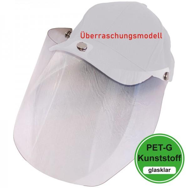 PET-G-Visier Basecap - Überraschungsmodell