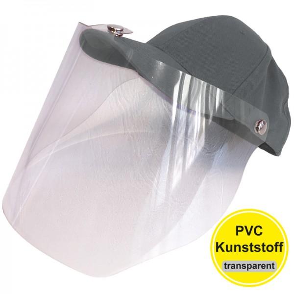 PVC-Visier Basecap - dark grey