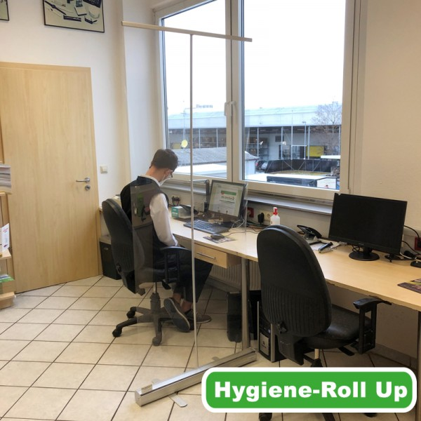 Hygiene Roll Up / transportabel