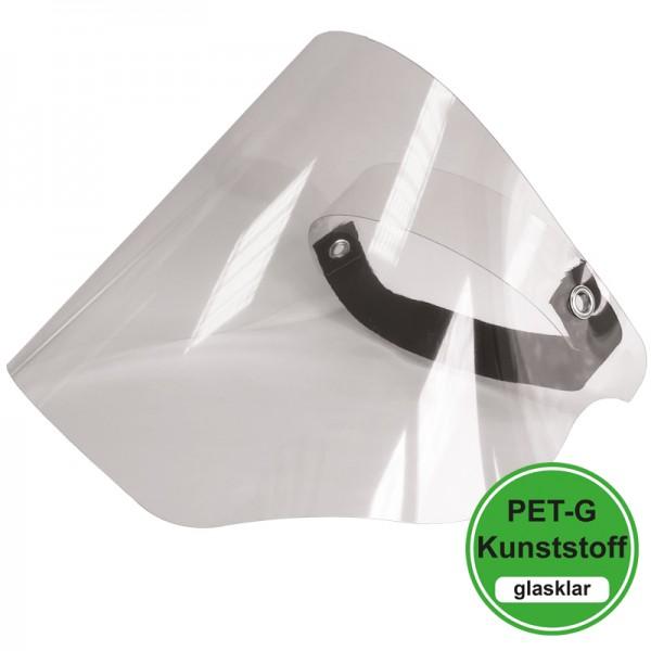 PET-G-Visier - Basic mit PVC Stirnhalterung