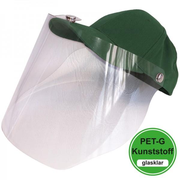 PET-G-Visier Basecap - dark green