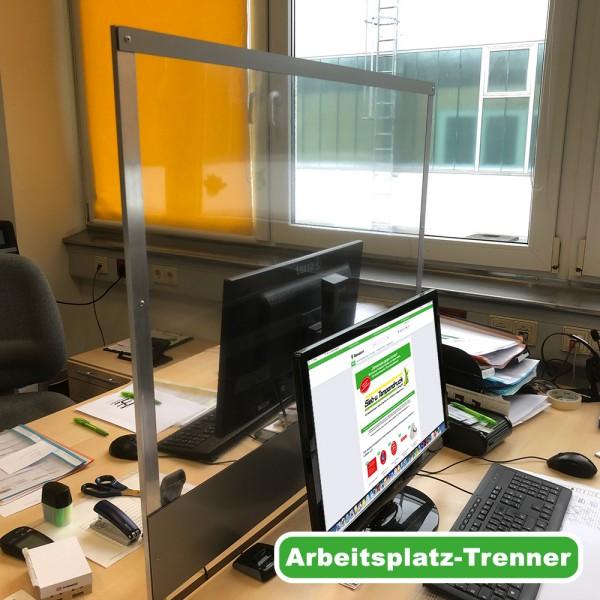 Arbeitsplatz-Trenner mit Tischklemme