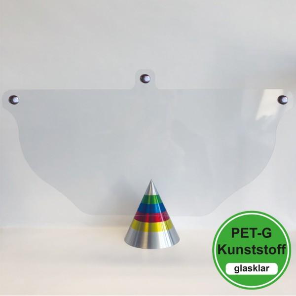 PET-G-Ersatz Visier - für Basecap